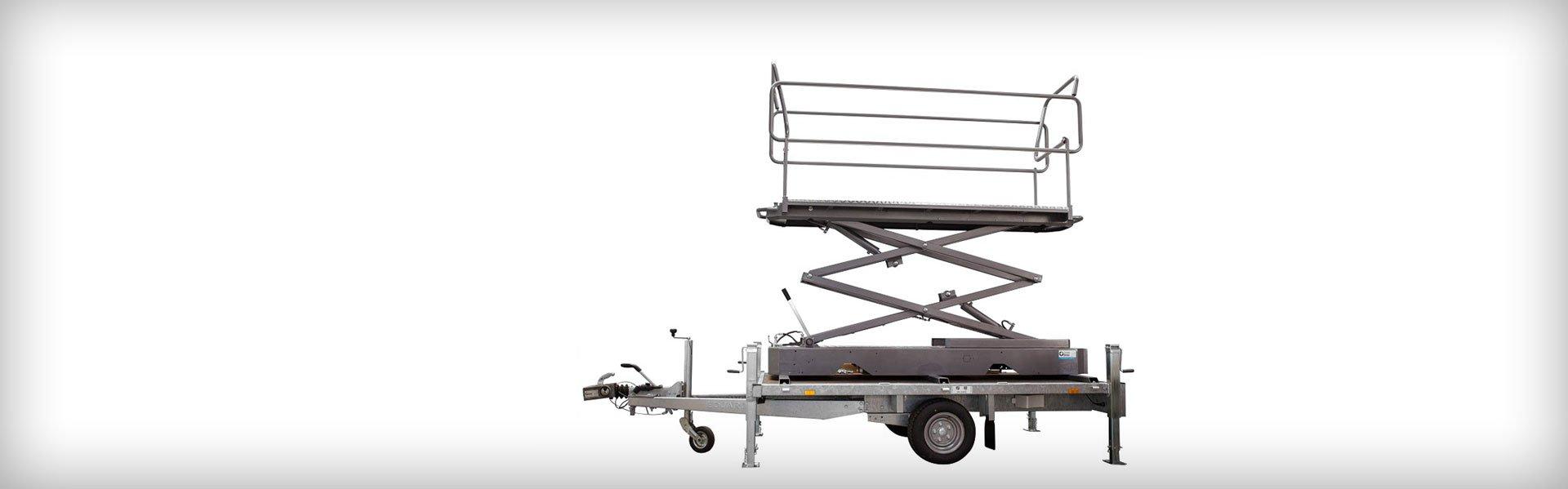 Steenks ontwikkelt aanhangwagen met hoogwerker voor Transavia