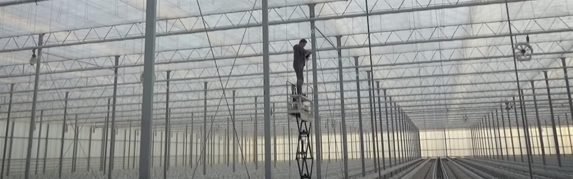 Oplossing touwhangen kas