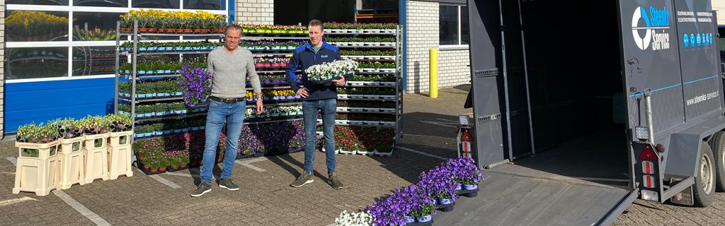 Steun de sierteelt en doe mee met de Flower Boost Challenge | Steenks Service